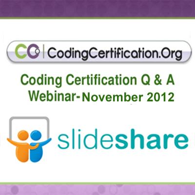november 2012 medical coding webinar