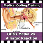 otitis media vs allergic reaction video